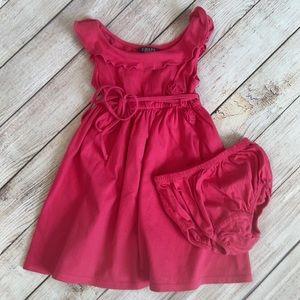EUC Chaps Dress